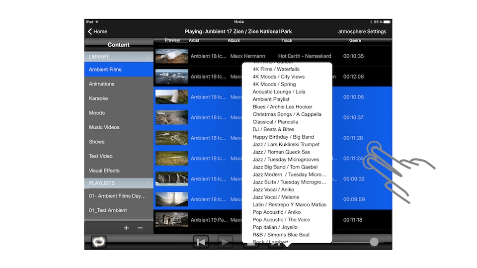 atmosphere Controller_iPad pic 6